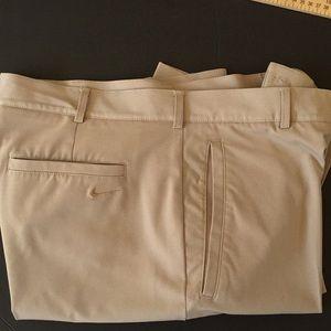 Nike Men's Size 34 Tan Pants